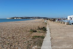 Marine Parade and beach, between Seaford and Newhaven