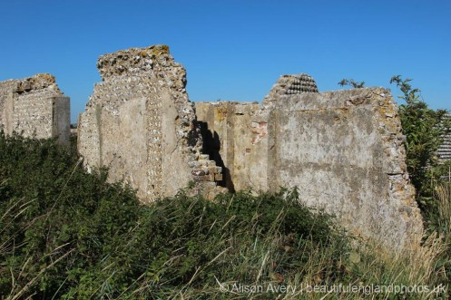 Remains of Mill House, Tide Mills, near Newhaven
