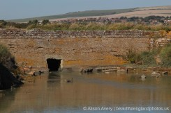 Remains of sluice, Mill Pond, Tide Mills, near Newhaven