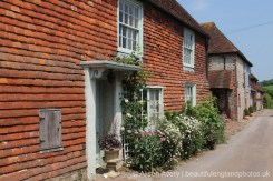 Cottages leading to South Downs Way, Alfriston