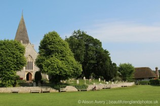 St. Andrew's Church and Alfriston Clergy House, Alfriston