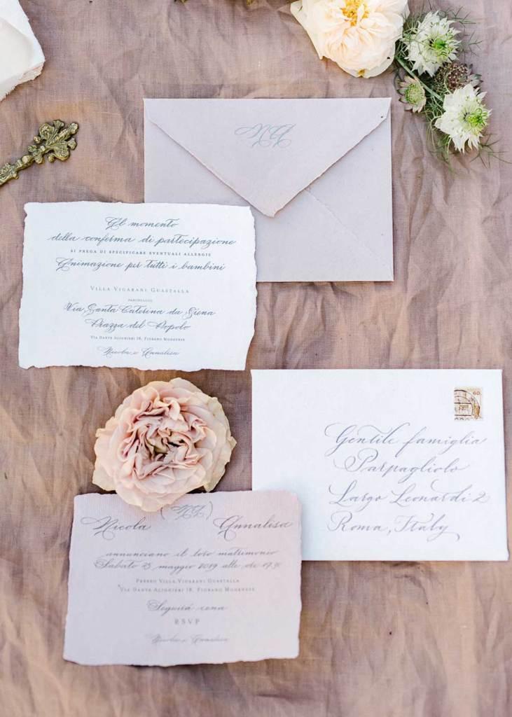 calligraphy wedding invitations - beautiful letters calligraphy studio