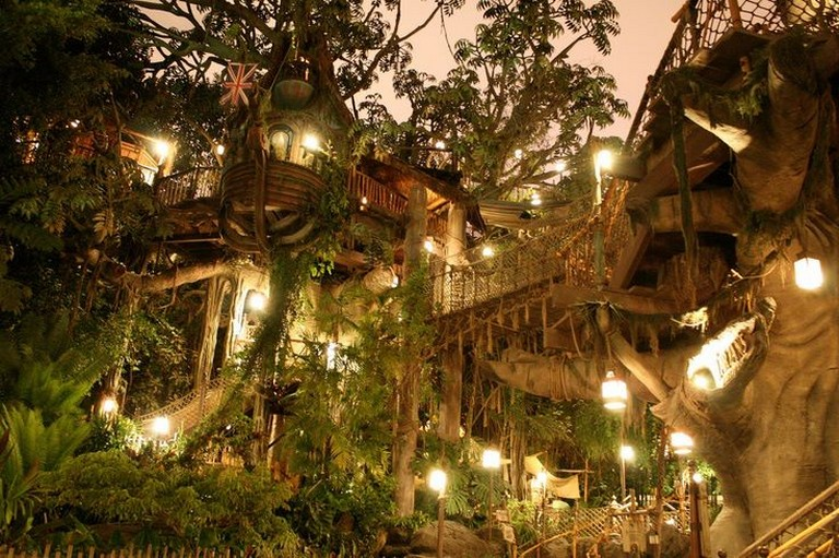 Tarzan's Treehouse at Disneyland Park in Anaheim, CA
