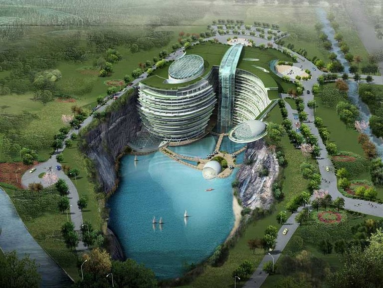 The Songjiang Sustainable Hotel in China