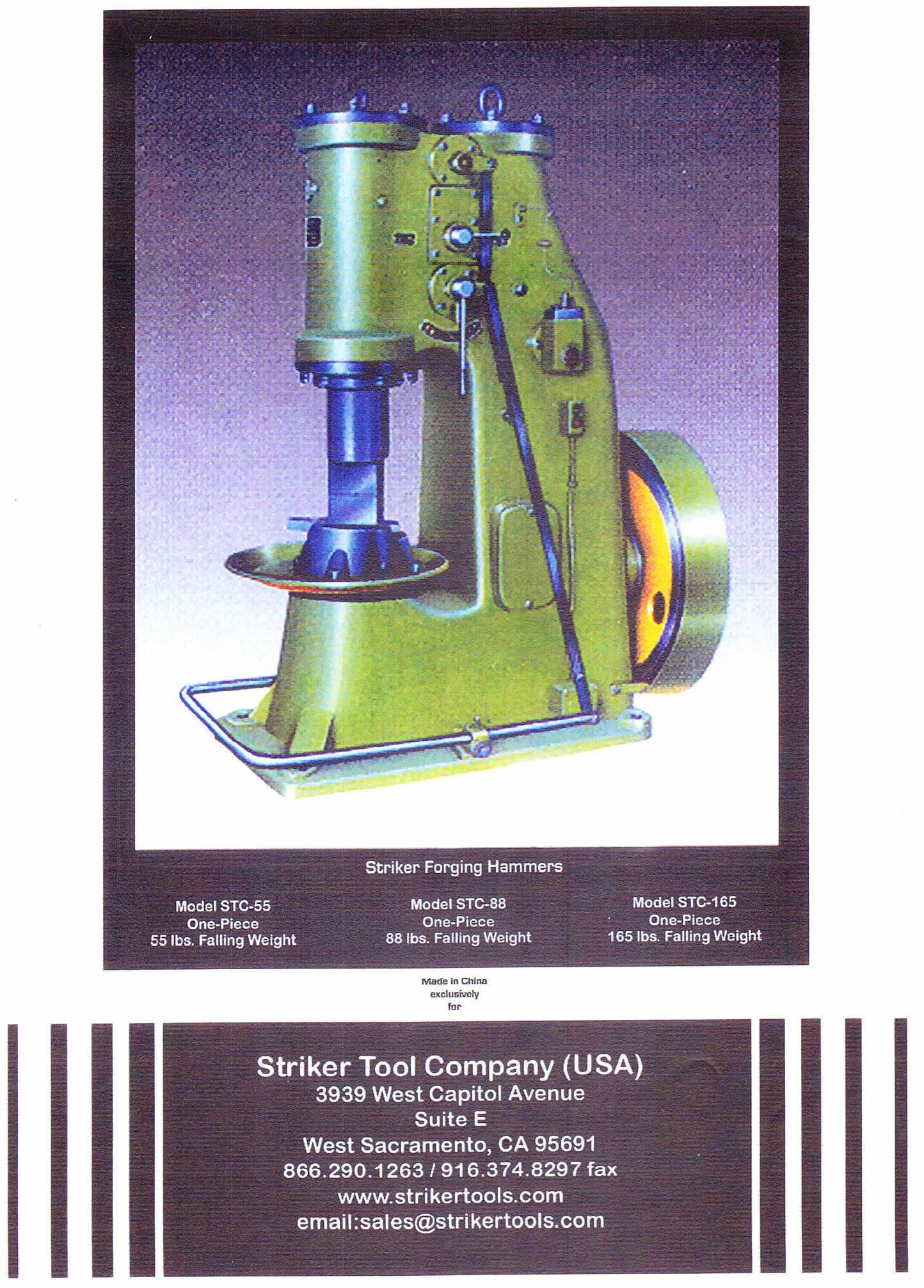 Striker Air Hammer Stuff