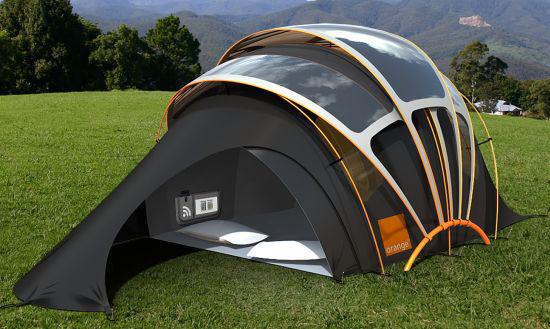 conceptual tent