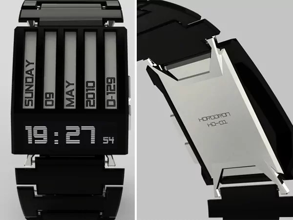 E-ink concept watch