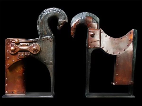 steampunk sculptures