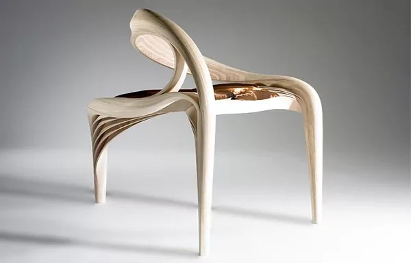 sculptural furniture