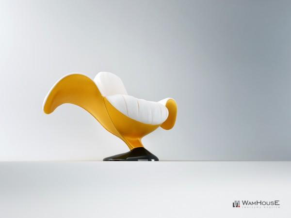 Zjedzony chair