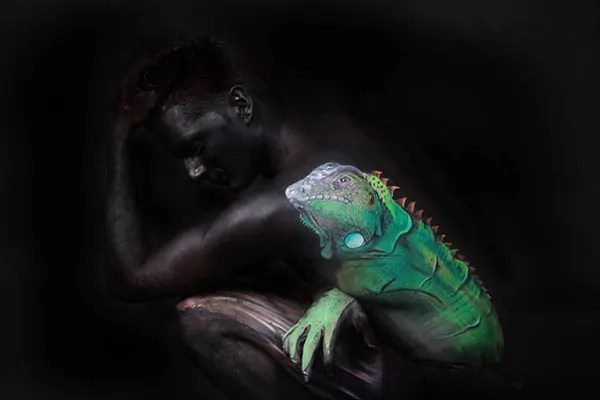 body art illusions