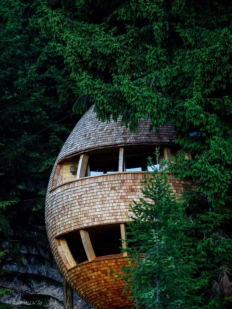 15 Most Awesome Tree Houses From Around The World on Awesome Ideas  id=21398