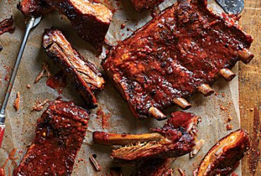 Your search for the perfect sweet ribs recipe ends here. These pork ribs are made with a smoky dry rub that complements theSweet and Spicy Barbecue Sauce.