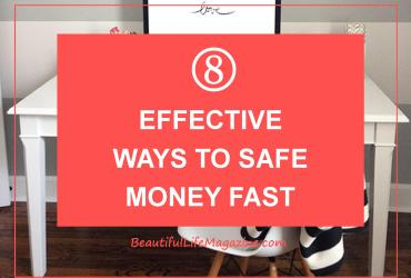 To save money quickly, you need to focus on the right savings strategies. Here are 8 tips to help you save money faster