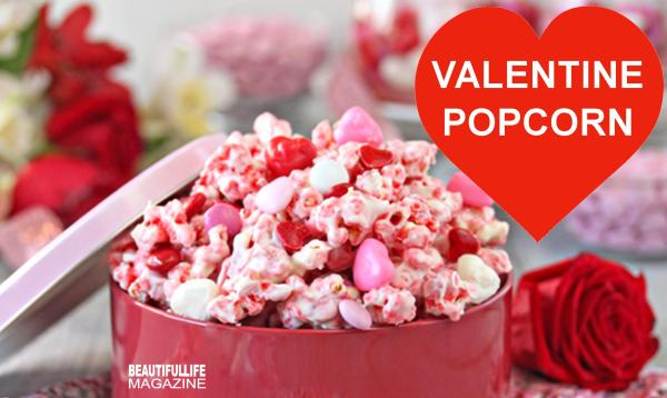 This Valentine Popcorn snack mix starts with a bright pink, crunchy popcorn that's packed with strawberry flavor. It's totally addicting and really good on its own, so if you want to keep things simple you can just make the popcorn and call it a day.