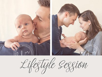 Newborn Baby – Lifestyle Session – Epsom