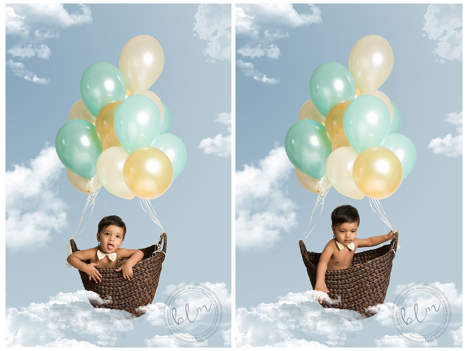 first birthday shoot-epsom balloons composite