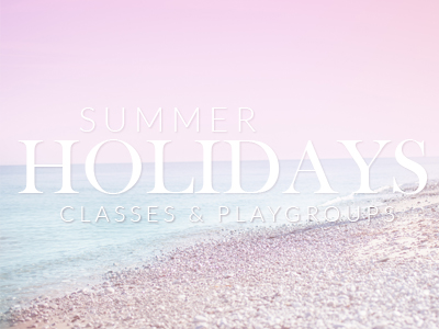 summer holiday classes and playgroups for babies and toddlers epsom