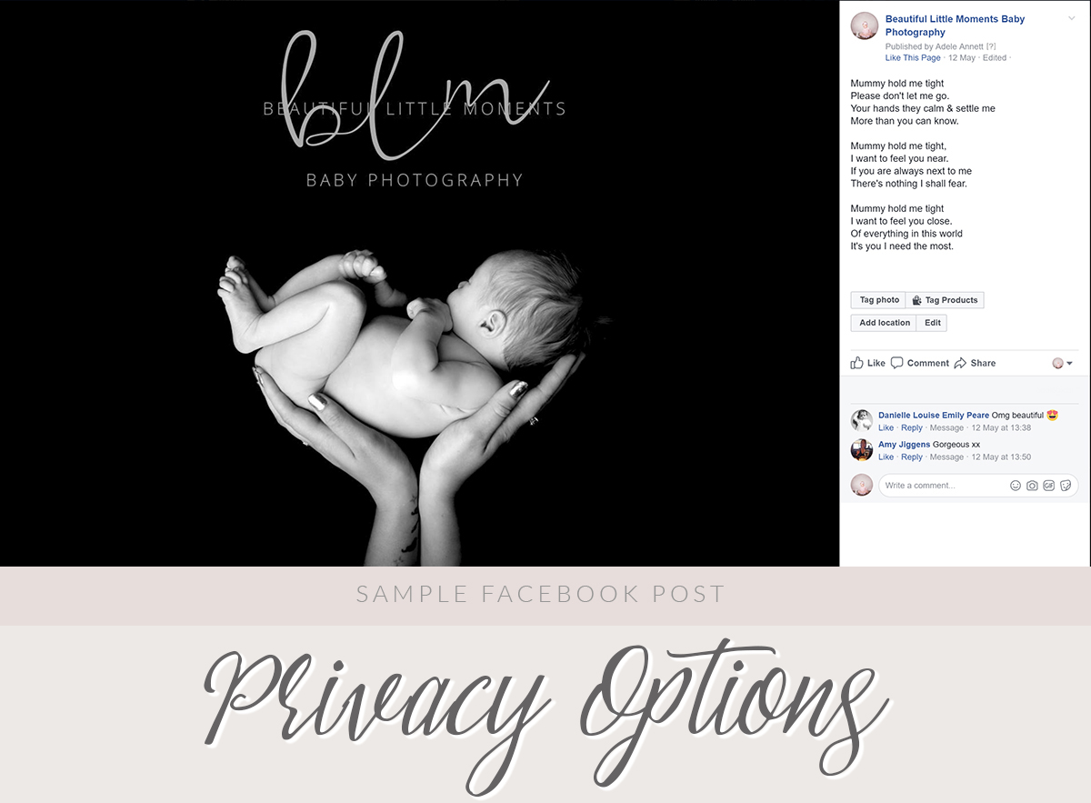 your baby's privacy online beautiful baby photography epsom