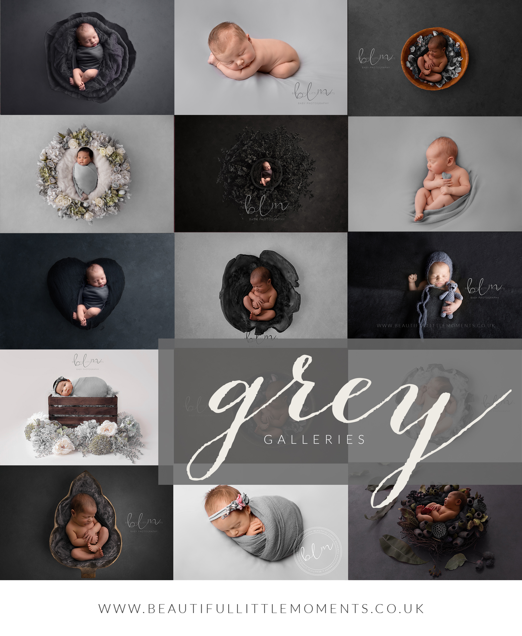 grey gallery options and inspiration