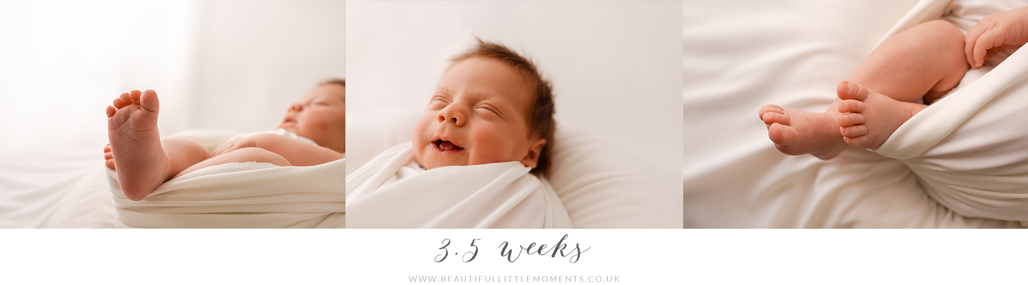3.5 week old baby photography