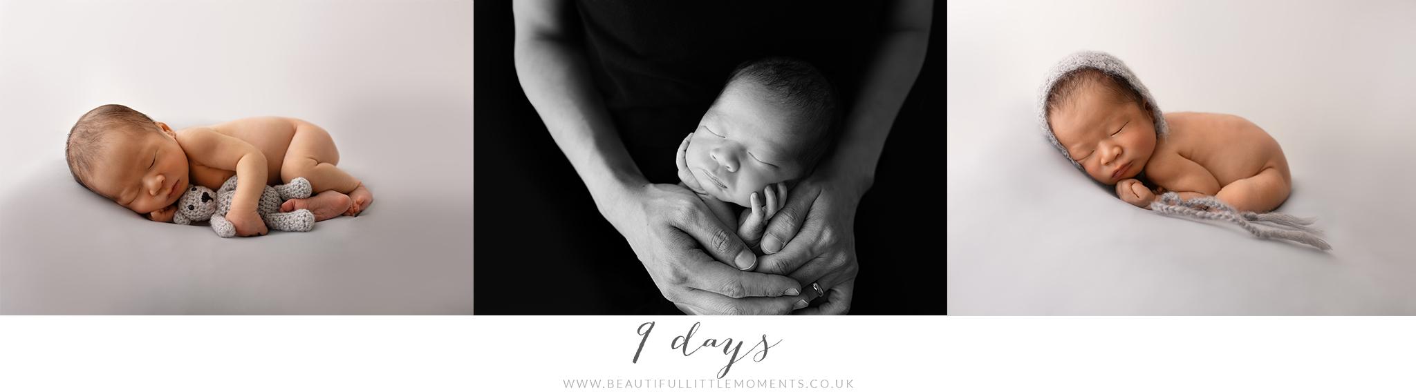 baby photos 9 days new
