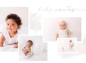 baby photography newborn to first birthday