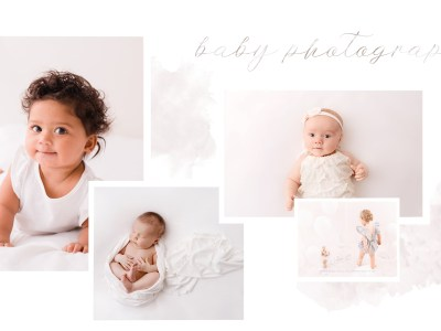 baby photography newborn to first birthday