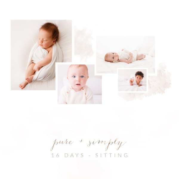 sixteen days to sitting baby photography