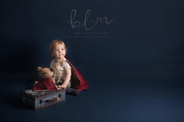 superhero photoshoot toddler