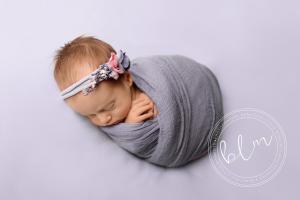 newborn-baby-girl-blue-purple-wrap-headband-epsom-surrey