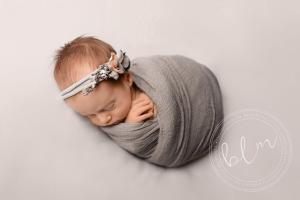 newborn-baby-girl-neutral-tones-wrap-headband-epsom-surrey