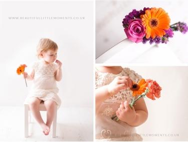 girl-photoshoot-peach-orange-petals-flowers-epsom-surrey