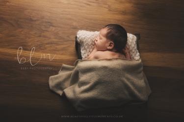 newborn-baby-dark-wood-bed-crate-epsom-surrey