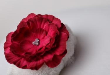 red-flower-headband