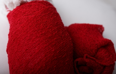 red-newborn-wrap