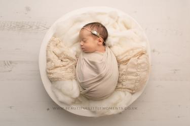 newborn baby girl cream