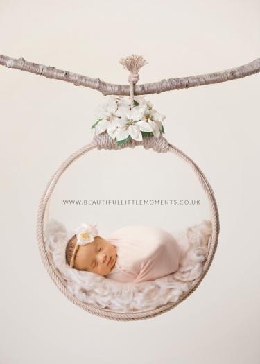 newborn baby girl neutral