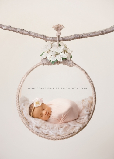 newborn baby girl neutral