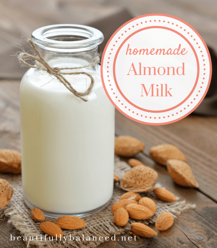 Pinterest Homemade Almond Milk