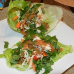 Thai Inspired Lettuce Cups with Basil