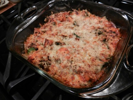 baked vegetable marinara