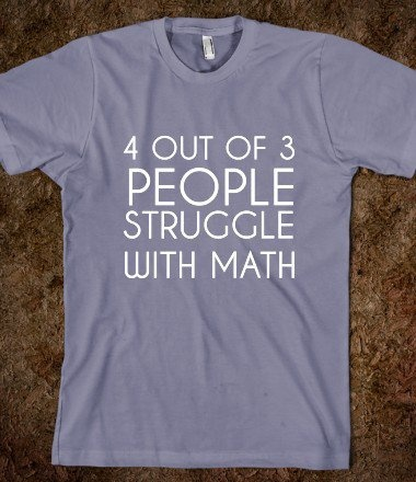 pick me up math shirt