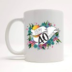 Offensive 40th Birthday Mug 40th Birthday Ideas Gift For Her Mug Idea