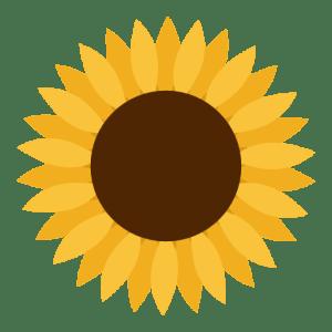 Beautiful Minds logo (sunflower)