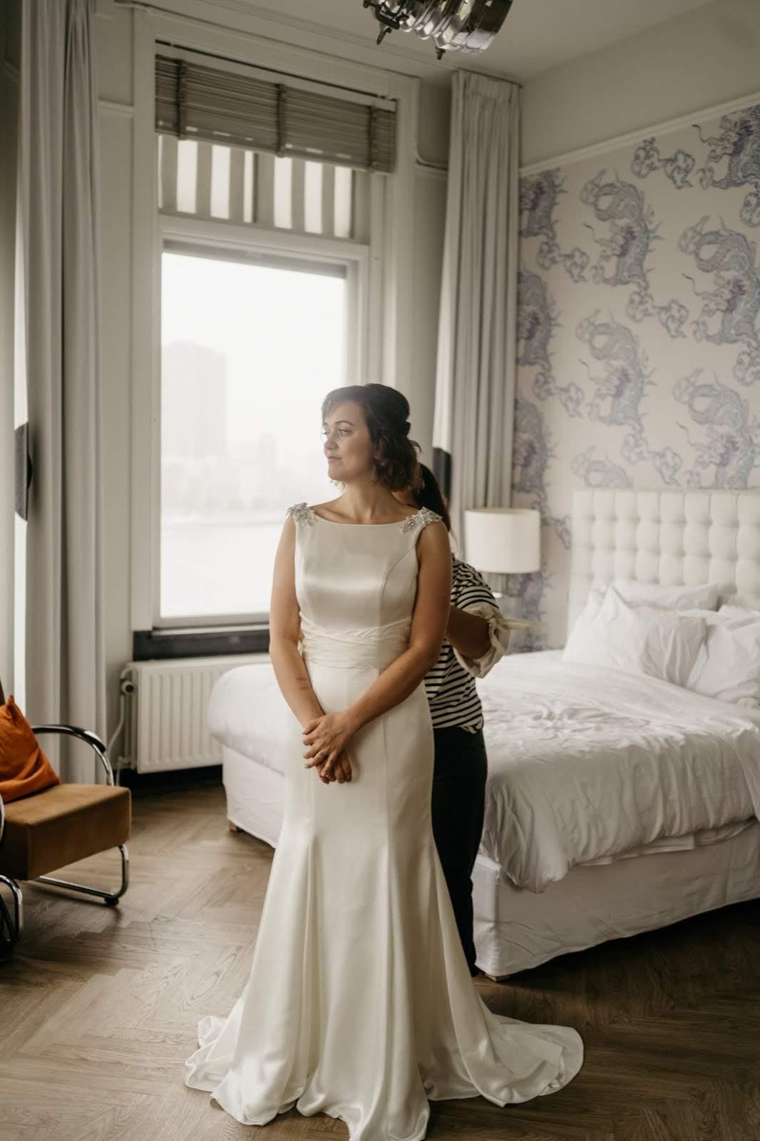 bianca rijkenbarg Bruidsmake-up en Bruidskapsel Hotel New York Beautiful Morning
