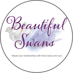 Beautiful Swans Repair your relationships with food body and soul
