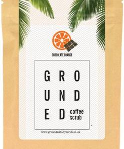 Grounded Chocolate Orange Coffee Scrub 200g