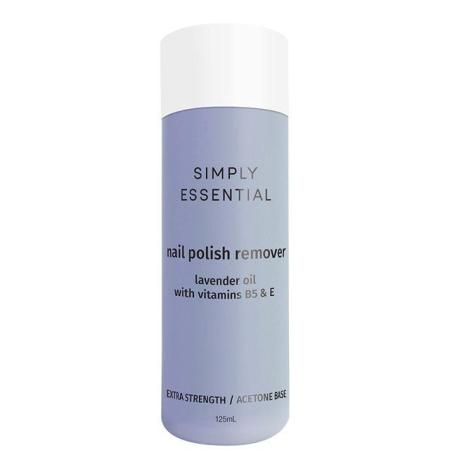 Simply Essential Nail Polish Remover Extra Strength 125ml - Acetone