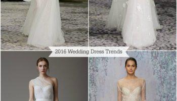 Wedding Dress 2016 Trends
